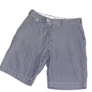 Ralph Lauren Striped Seersucker Golf Short Size 30